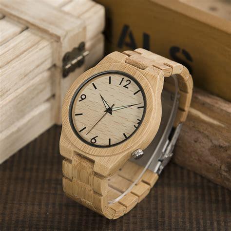 Bobo Bird A22 Bamboo Wood Quartz With Logo Pointer In Gift Box 2017 logo custmized bobo bird bamboo wooden watches japan movement clock relogio