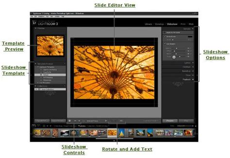 How To Make And Export A Slideshow With Lightroom 3 Lightroom Slideshow Templates Free