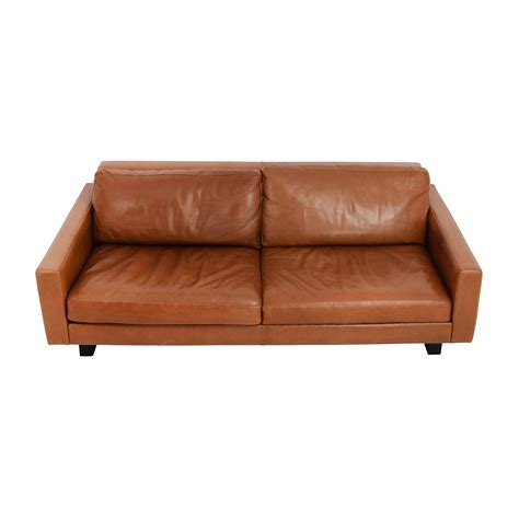used leather sofa used leather sofa used rh leather sofa thesofa