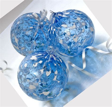 ornaments glass blown blown glass ornaments