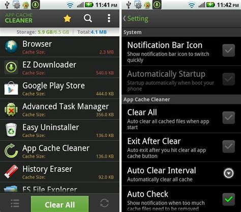 cache cleaner for android tablet free up space on android with app cache cleaner redmond pie