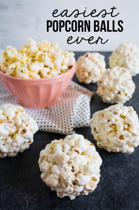 popcorn recipe easiest popcorn balls recipe