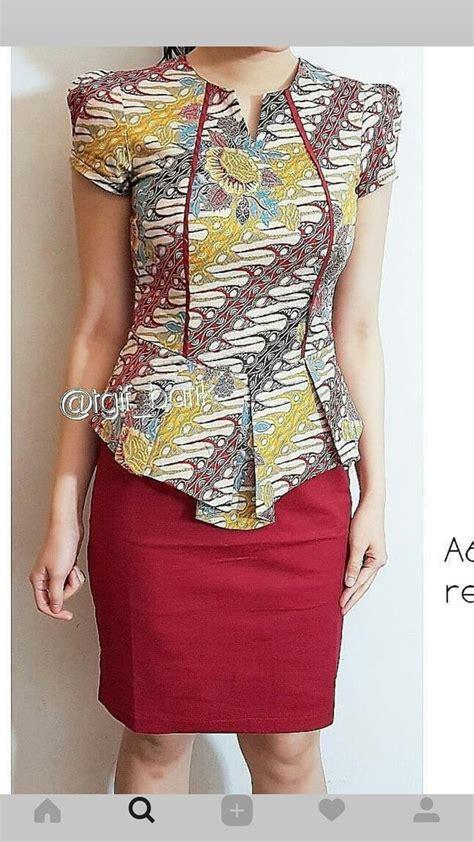 Dress Maxi Lurik Daun Sogan the 25 best batik dress ideas on model dress