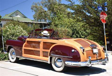 Convertiblesnot Just For Cars Anymore by A 1948 Chrysler Woody Convertible Now For Sale At