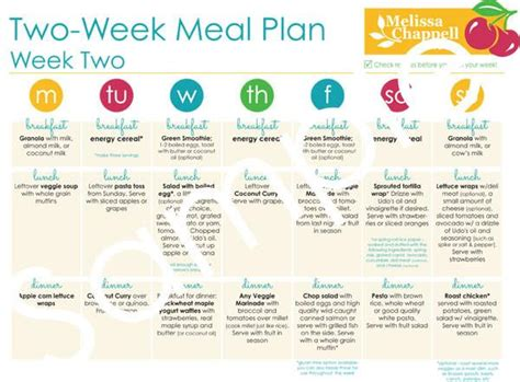 two week meal plan template 2 week planner template calendar template 2016