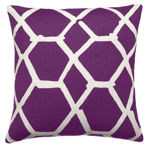 Purple Accent Pillow by Purple Accent Pillow Interior With Lovely Outlook