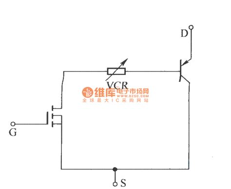 what is a voltage controlled resistor igbt vcr voltage controlled resistor equivalent circuit model basic circuit circuit