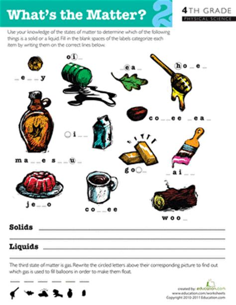 what is matter worksheet what s the matter 2 worksheet education