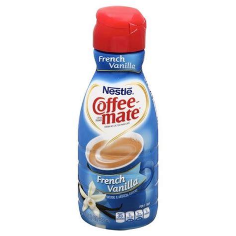 Coffee Mate Creamer nestle coffee mate liquid vanilla creamer 32 oz