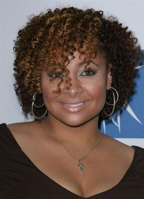 hairstyles for round face black hair pictures of curly hairstyles for black women with round face