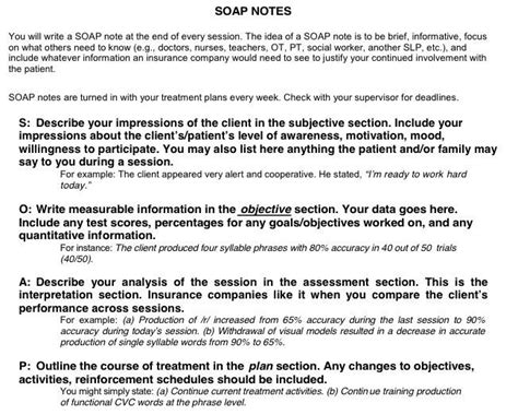 notes social work template note template for social work soap search