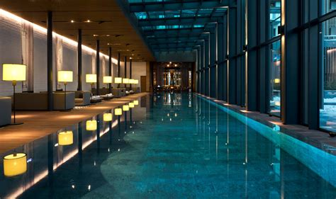 15 of the best indoor hotel pools in the world escapehere luxury swiss hotel the chedi andermatt hotel ski resort