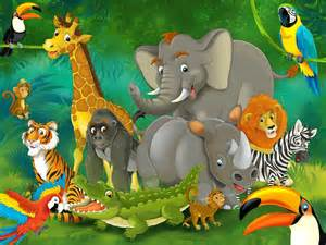 Wall Wallpaper Murals wild animals cartoon images animals pinterest