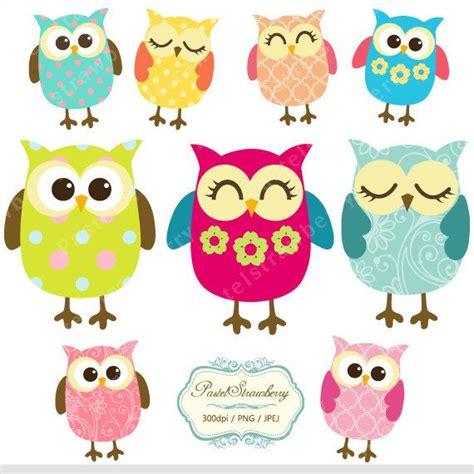 printable owl graphics cute owl clip art etsy 4 00 pics pinterest ugglor