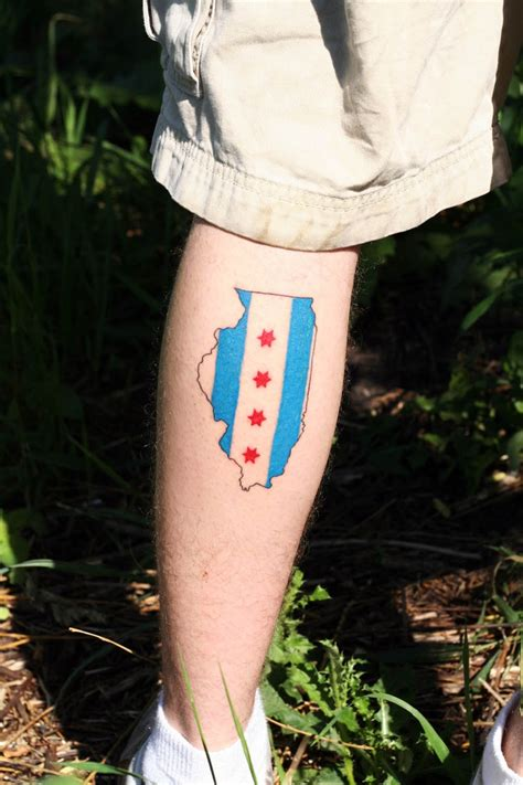 chicago flag tattoo 17 best images about tattoos on tattoos