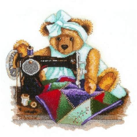 Patchwork Bears - dmc hobby bears