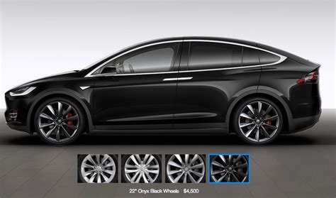tesla model x wheels and tires specifications