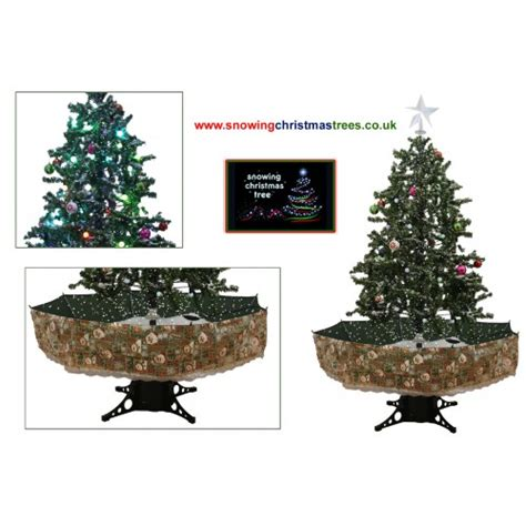 snowing christmas trees 2016 model snowing christmas