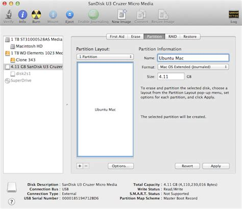 format external hard drive mac bootable how to create a bootable ubuntu usb drive for mac in os x