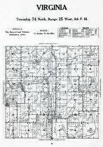 Virginia Judiciary Search Warren County Virginia Atlas Warren County 1951 Iowa Historical Map