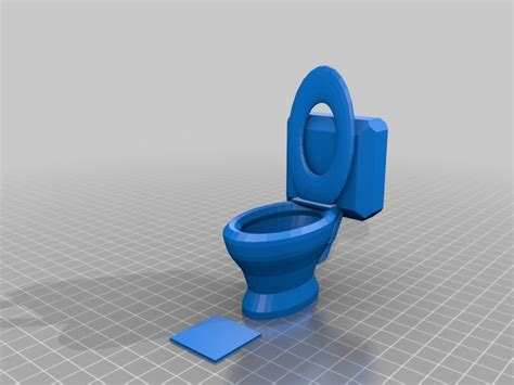 doll house toilet toilet dollhouse by cerberus333 thingiverse