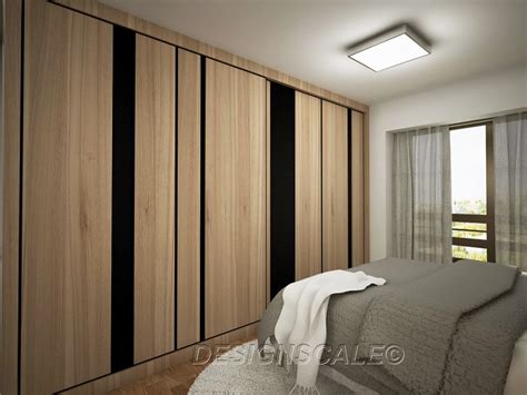 Bedroom Wardrobe Ideas Singapore Hdb Bto 4 Room Scandinavian At Dawson Skyville