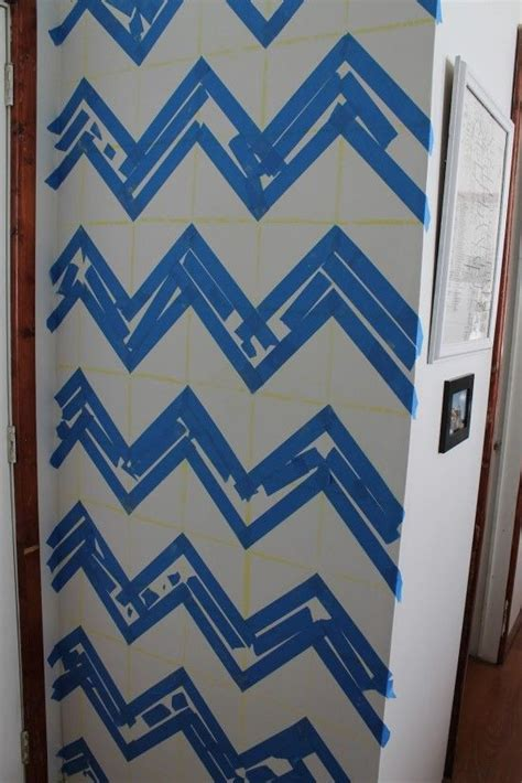 zig zag pattern painting 7 best images about how to make chevron pattern on