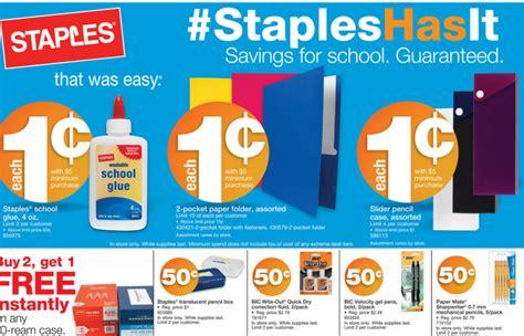 being frugal 101 best school supply deals week of 7 28