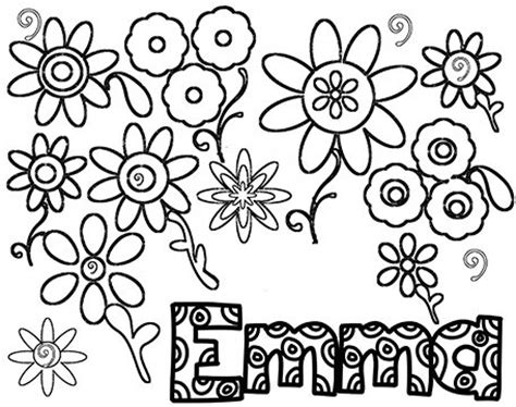 coloring pages of the name emma emma name coloring pages sketch coloring page