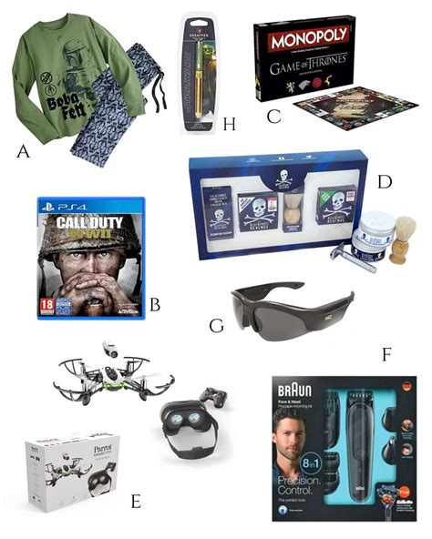 a christmas gift guide for men 2017 edition