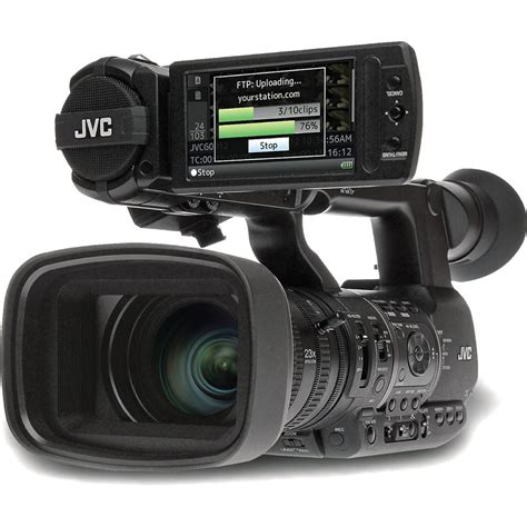 cameri news jvc gy hm650 prohd mobile news gy hm650u b h photo