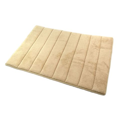 how to clean memory foam rug new luxury non slip backing microfibre memory foam bath mat bathroom shower rug ebay