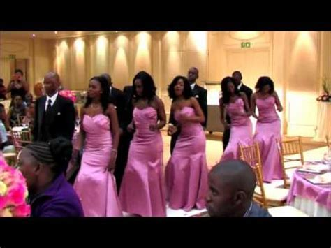 African Wedding Botswana serudi phuu marrying Robin Nelson