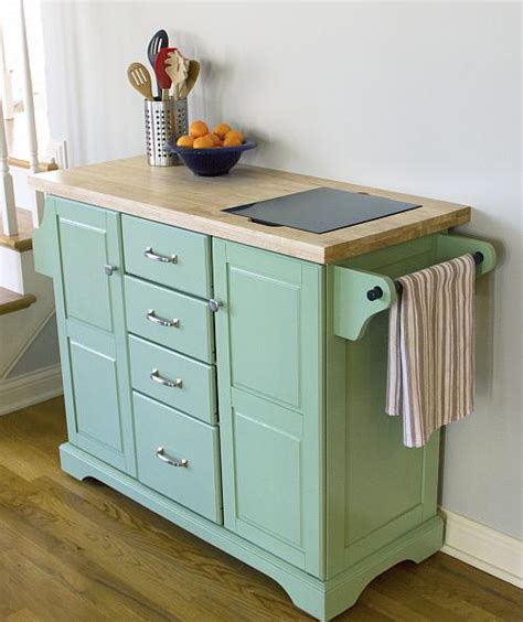 Timeless Rolling Kitchen Island   Project by DecoArt