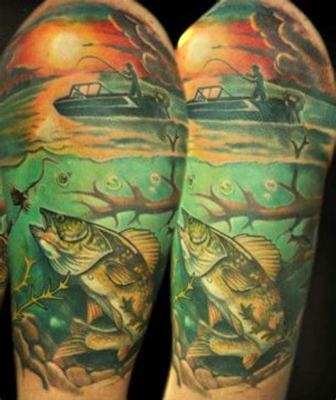 bass fishing tattoos 17 best images about fishing on fishing