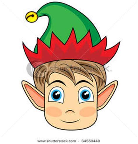 printable elf head elf head clipart