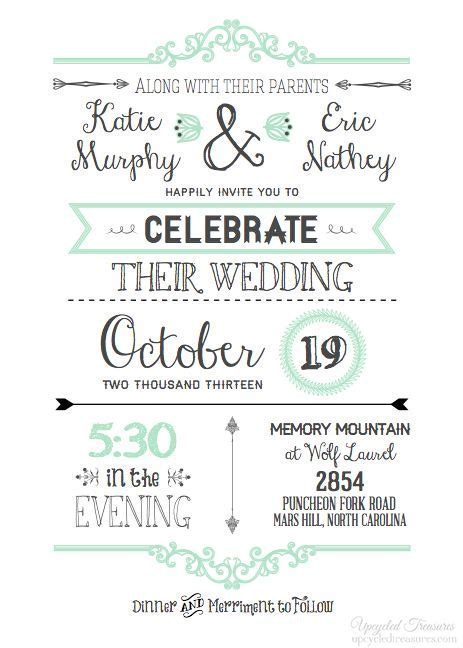 25  best ideas about Blank wedding invitations on