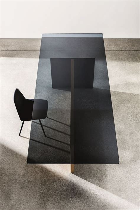 black and glass dining table 28 unique dining tables to make the space spectacular