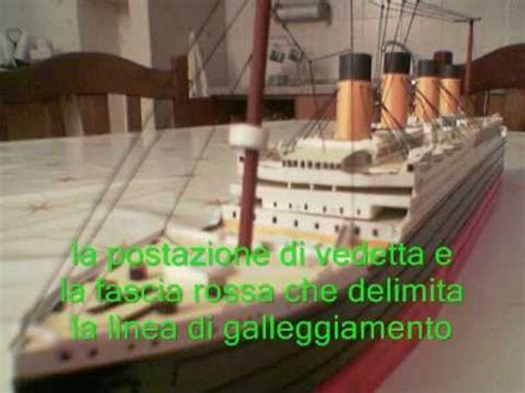 How To Make The Titanic Out Of Paper - titanic paper model wmv