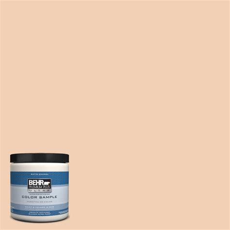 behr premium plus ultra 8 oz 190b 6 coral interior exterior paint sle 190b 6u the