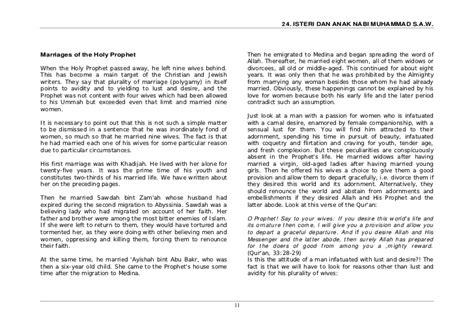 Muhammad Dan Aisyah 28 isteri dan anak nabi muhammad