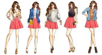 fashion illustration winter wear that rock kid winter fashion trend 2012 skater skirts