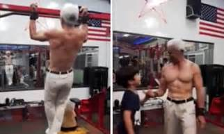 strongest bench press pound for pound taiwan s strongest grandfather can bench press 120kg