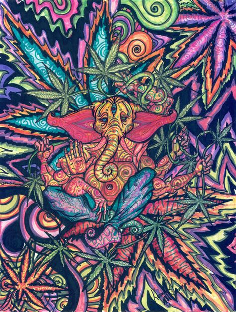 Paint Colors For Rooms With Little Natural Light by Pretty Art Trippy Cool Drugs Weed Marijuana Smoke Lsd