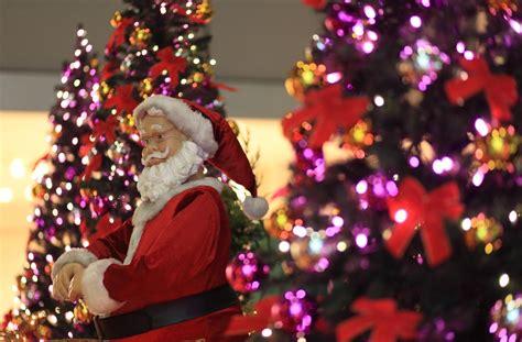 santa claus christmas tree wallpaper 2014