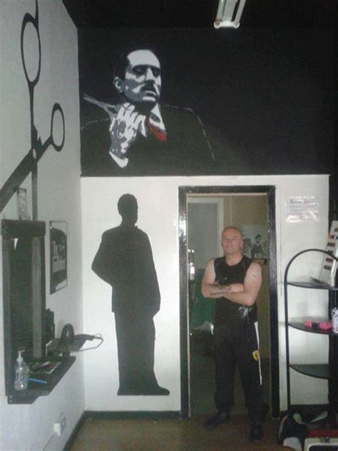barber glasgow movie don vito corleone the godfather barbers glasgow by