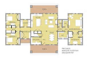 Master On Main House Plans main level floor plan features one level living with main
