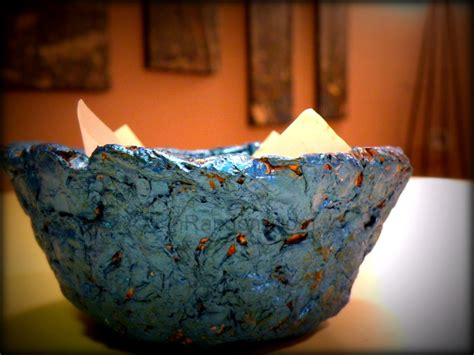 How To Make A Bowl Out Of Paper Mache - how to make bowls out of paper craft