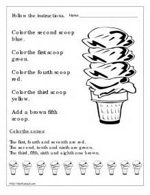 4 best images of printable worksheets for 1st grade