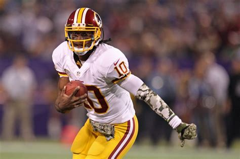 2015 robert griffin iii washington redskins redskin rewind robert griffin iii versus minnesota 2012